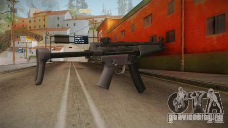 CoD 4: MW Remastered MP5 для GTA San Andreas второй скриншот