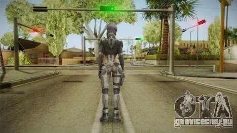 Ghost in the Shell - Motoko Kusanagi для GTA San Andreas третий скриншот