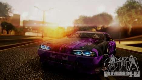 Elegy Hellcat 2.0 для GTA San Andreas вид сбоку