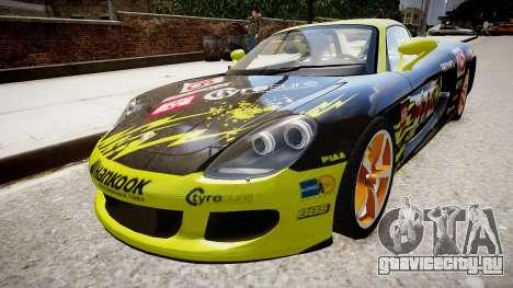 Porsche Carrera GT [EPM] для GTA 4 вид справа