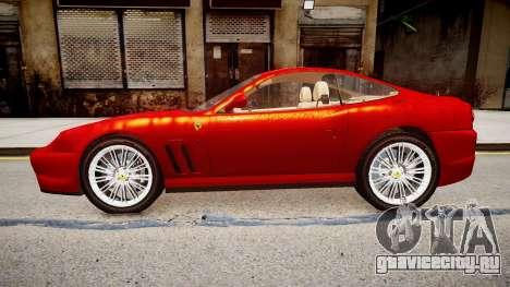 Ferrari 575M Maranello для GTA 4 вид слева