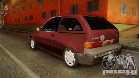 Suzuki Swift 1.3 для GTA San Andreas вид слева