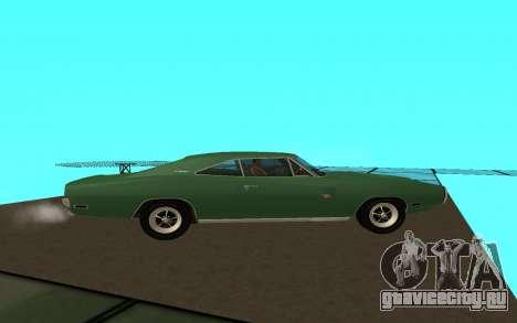 Dodge Charger 1969 для GTA San Andreas вид слева