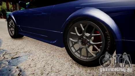 Nissan 240SX Light Tuning для GTA 4 вид сзади