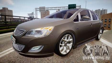 Opel Astra Senner для GTA 4