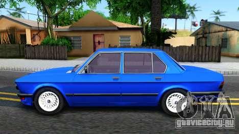 BMW E28 525e для GTA San Andreas вид слева