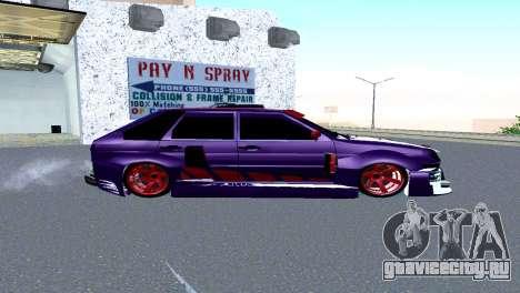 ВАЗ 2114 GTR SPORTS SLS для GTA San Andreas вид слева