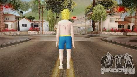 Minato Swimsuit для GTA San Andreas третий скриншот