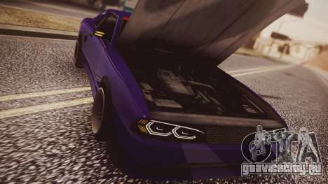 Elegy Hellcat 2.0 для GTA San Andreas вид справа