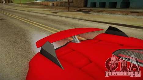 GTA 5 Progen Anubis для GTA San Andreas вид изнутри