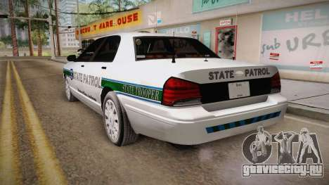 Brute Stainer 2008 San Andreas State Police для GTA San Andreas вид слева