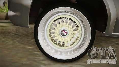Chevrolet Corsa Camber для GTA San Andreas вид сзади слева