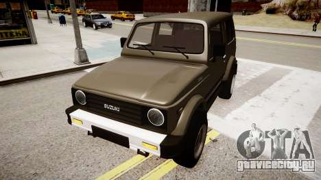 Suzuki Samurai v1.0 для GTA 4 вид справа
