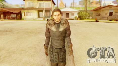 Game of Thrones - Jon Snow для GTA San Andreas третий скриншот
