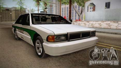 Declasse Premier 1993 Angel Pine Police для GTA San Andreas вид справа