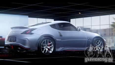 Nissan 370Z Nismo 2016 EU Plate для GTA San Andreas вид слева