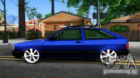 Volkswagen Gol GTI Troll Face для GTA San Andreas вид слева