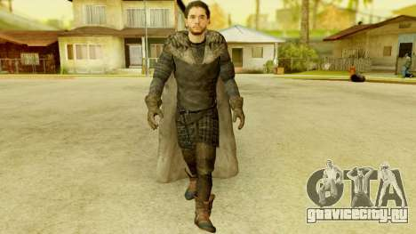 Game of Thrones - Jon Snow для GTA San Andreas
