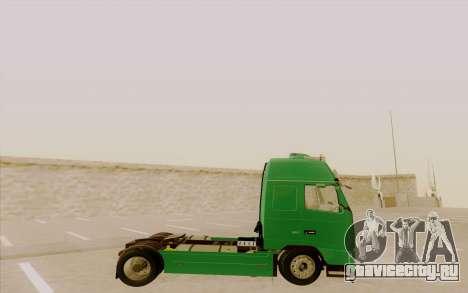Volvo FH16 для GTA San Andreas вид слева