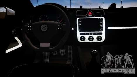 Volkswagen Scirocco Mk.III '08 Tune Final для GTA 4 вид изнутри