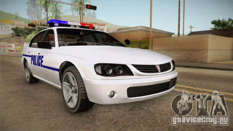 Declasse Merit 2005 Dillimore Police Department для GTA San Andreas