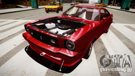 FORD Mustang King Cobra 1978 для GTA 4