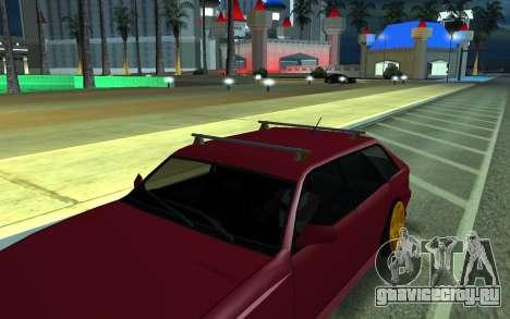 Sultan для GTA San Andreas вид сзади слева
