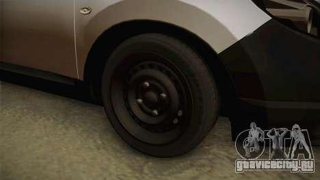 Nissan Qashqai для GTA San Andreas вид изнутри