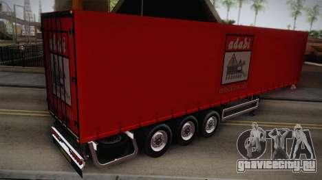Adabi Trailer для GTA San Andreas вид слева