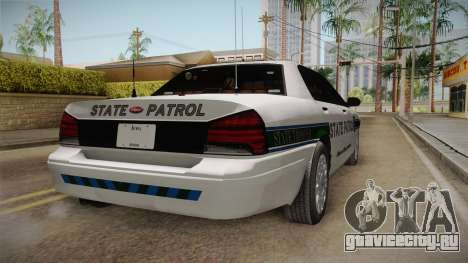 Brute Stainer 2008 San Andreas State Police для GTA San Andreas вид сзади слева