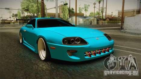 Toyota Supra Stance для GTA San Andreas