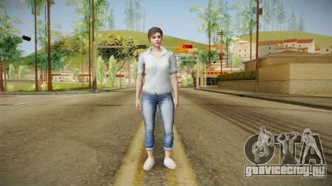 GTA 5 Online Skin Female Mail для GTA San Andreas второй скриншот