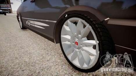 Fiat Uno Way 17 Fixa для GTA 4 вид сзади