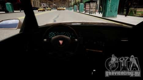 Maibatsu Vincent Tuning для GTA 4 вид изнутри