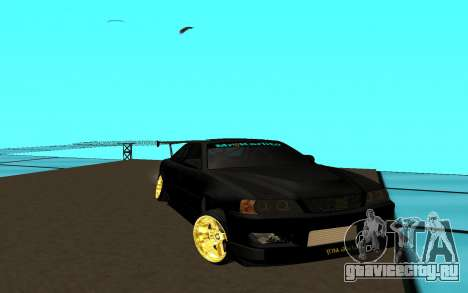 Toyota Chaser JZX 100 для GTA San Andreas
