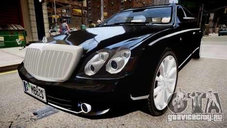 Maybach 62 S 2009 для GTA 4