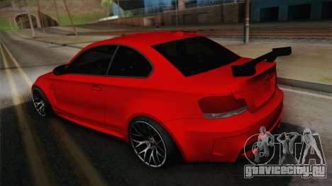 BMW M1 E82 для GTA San Andreas вид слева