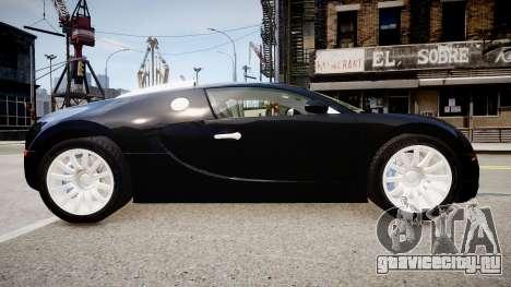 Bugatti Veyron 16.4 2009 v.2 для GTA 4 вид слева