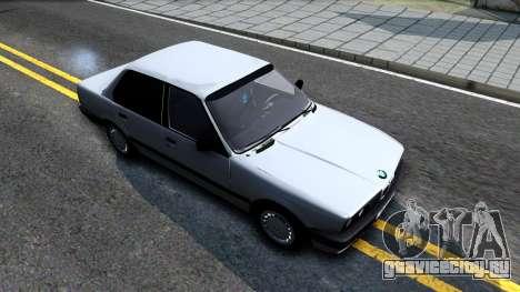 BMW 325i E30 для GTA San Andreas вид справа