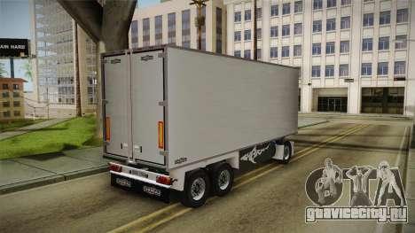 Iveco Eurotech 400E34 Tandem v2.0 Trailer для GTA San Andreas вид справа