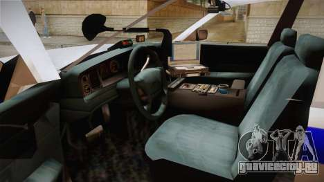 Ford Crown Victoria 1997 для GTA San Andreas вид сзади слева