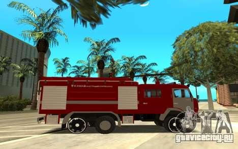 КАМАЗ 6520 для GTA San Andreas вид слева