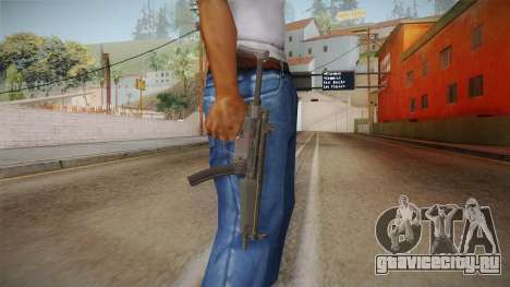 CoD 4: MW Remastered MP5 для GTA San Andreas третий скриншот