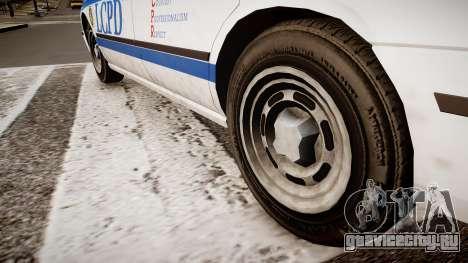 Police Patrol V2.3 для GTA 4 вид сзади