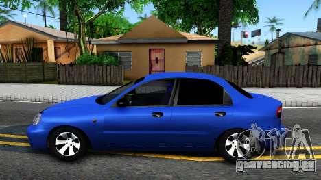 Daewoo Lanos V3 для GTA San Andreas вид слева