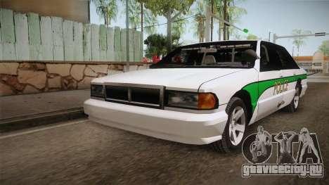 Declasse Premier 1993 Angel Pine Police для GTA San Andreas