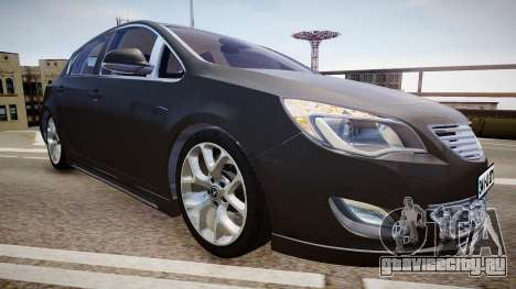 Opel Astra Senner для GTA 4 вид справа