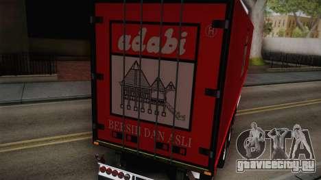 Adabi Trailer для GTA San Andreas вид сзади слева