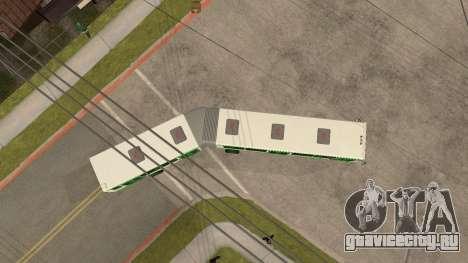 Прицеп к ЛиАЗ-6212 для GTA San Andreas вид справа