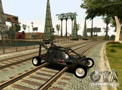 Off Road Car для GTA San Andreas вид справа